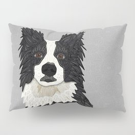 Beautiful Border Collie Pillow Sham