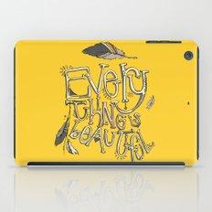 everything is beautiful iPad Case