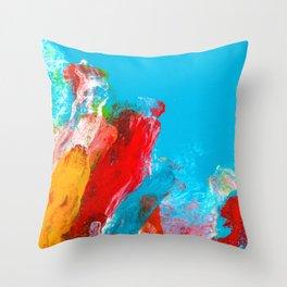 Rising Up Throw Pillow
