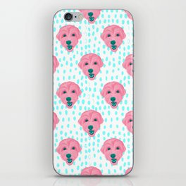 havanese - wht pattern iPhone Skin