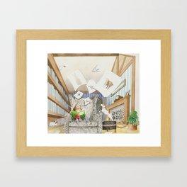 Nana's Sketchbook Framed Art Print