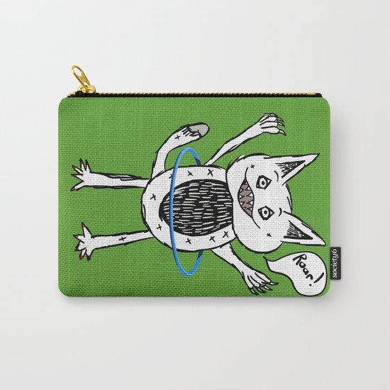Monster Hula Hoop Carry-All Pouch