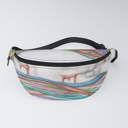 The Hardest Thing To Do In Life Is Open Your Eyes Fanny Pack