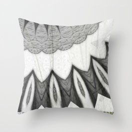 'flower pattern brittmarks' Throw Pillow