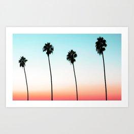 Sunset Boulevard #society6 #decor #buyart Art Print
