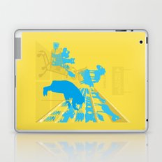 I don't know why she swallowed a fly... Laptop & iPad Skin