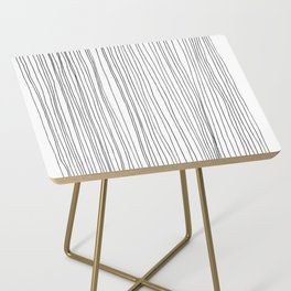 LINE - Poetry of the Pen Series by Cooper and Colleen Side Table