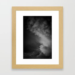 Coulds of Smoke Framed Art Print