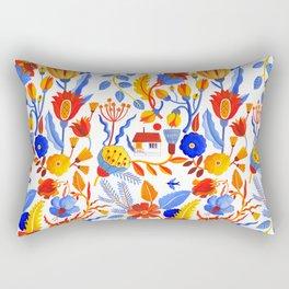 Tinyhouse Rectangular Pillow