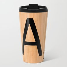 Scrabble Letter Tile - A Travel Mug