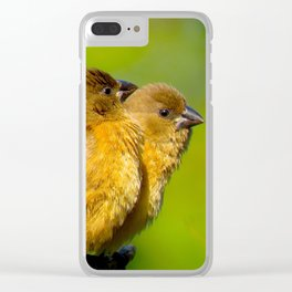 """""""Feathered Kin"""" by ICA PAVON Clear iPhone Case"""