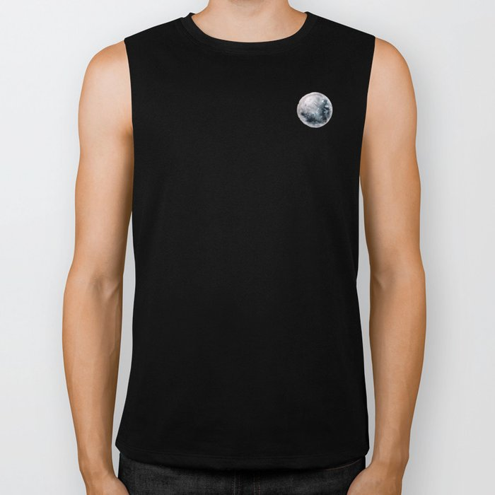 Caught Between the moon Biker Tank