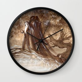 Halloween costume Wall Clock