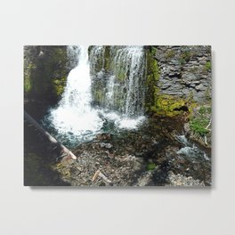 Mystic Waterfall Metal Print