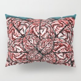 Brain Flower Pillow Sham