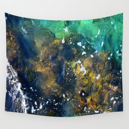 10,000 emerald pools Wall Tapestry