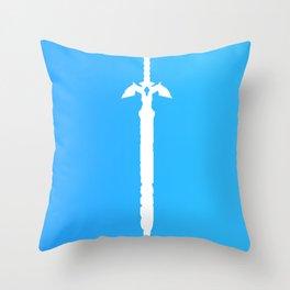 Darkness Sealing Sword - Legend of Zelda Throw Pillow