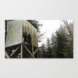 Haunted Tree House Canvas Print