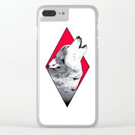 Still Wolfin' Clear iPhone Case