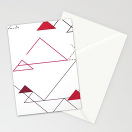 Tree-Angle Stationery Cards