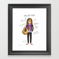 My New York City Getup! Framed Art Print