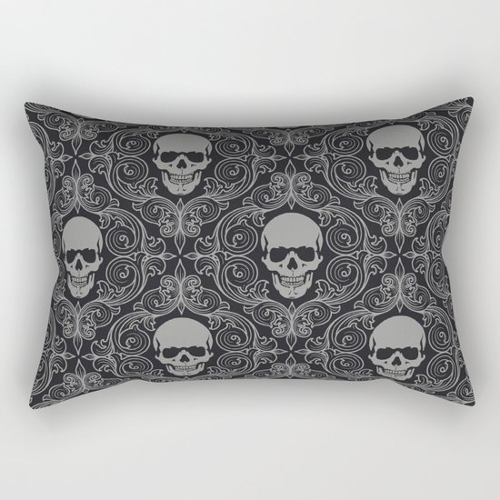 Skull pattern Rectangular Pillow