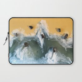 Garry Point - Original Resin Painting Laptop Sleeve