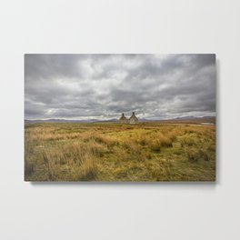 Derelict Cottage Metal Print
