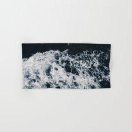 OCEAN - WAVES - SEA - ROCKS - DARK - WATER Hand & Bath Towel