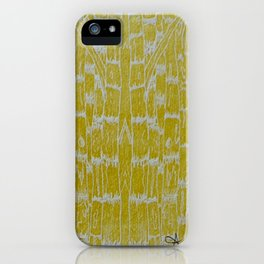 Yellow Sugarcane iPhone Case