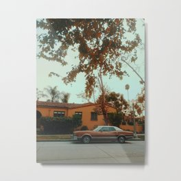 Miracle Mile, Los Angeles, California Metal Print