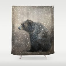 Braving the Storm Shower Curtain