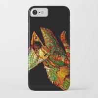 number iPhone & iPod Cases featuring KARMA CHAMELEON by Catspaws