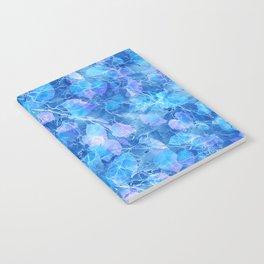 Frozen Leaves 29 Notebook