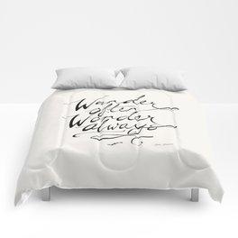 Wander Often Wonder Always™ Comforters