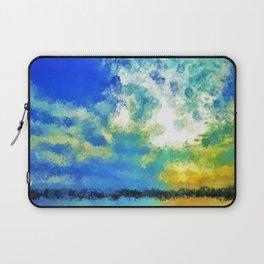 feathered horizon Laptop Sleeve