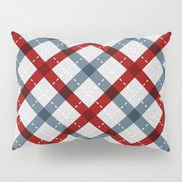 Colorful Geometric Strips Pattern - Kitchen Napkin Style Pillow Sham