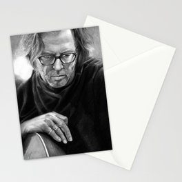 Eric Clapton PENCIL DRAWING Stationery Cards