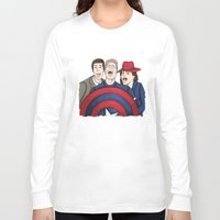 agent carter Long Sleeve T-shirts featuring Team Carter by HayPaige