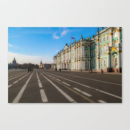 The Winter Palace Canvas Print
