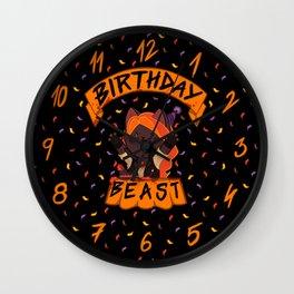 Birthday Beast (2018) Wall Clock