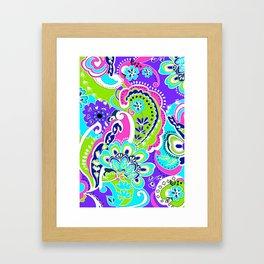 Flower Fun Framed Art Print