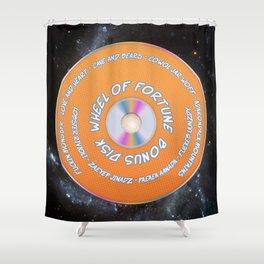 Game Grumps Wheel of Fortune Bonus Shower Curtain