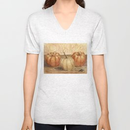 Mini Pumpkins I Unisex V-Neck