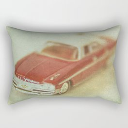 Vintage Red De Soto  Rectangular Pillow