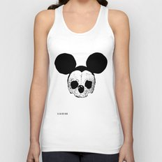 Dead Mickey Mouse Unisex Tank Top
