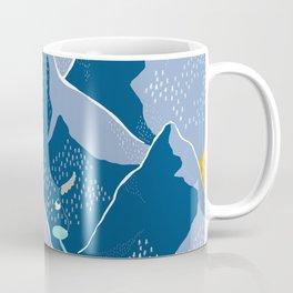 Say goodnight to the mountains Coffee Mug
