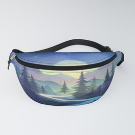 Touching the Stars Fanny Pack
