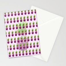 Pink Pineapple Stationery Cards