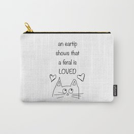 Eartip Means Love Carry-All Pouch